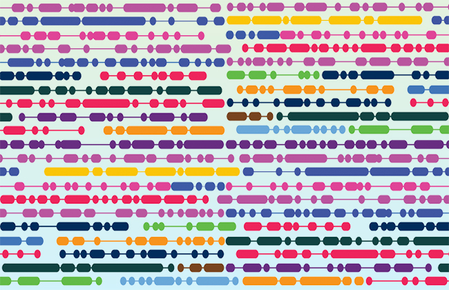 Long-linked sequences